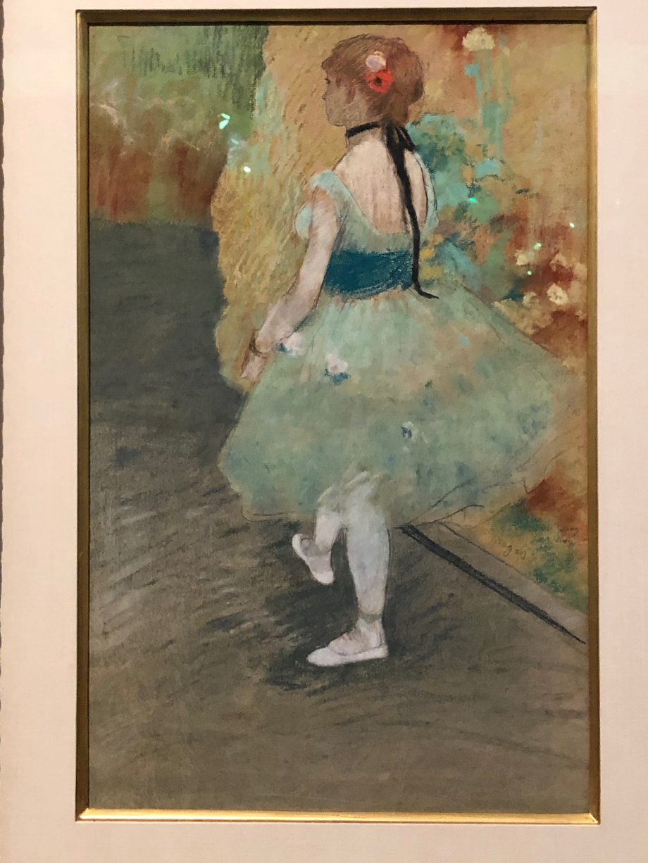 Danseuse verte vers 1878 La Nouvelle Orléans, New Orleans, Museum of Art
