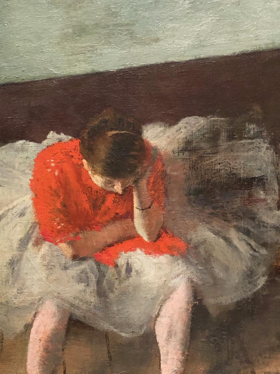 Détail du tableau Fatiguée ou triste ?