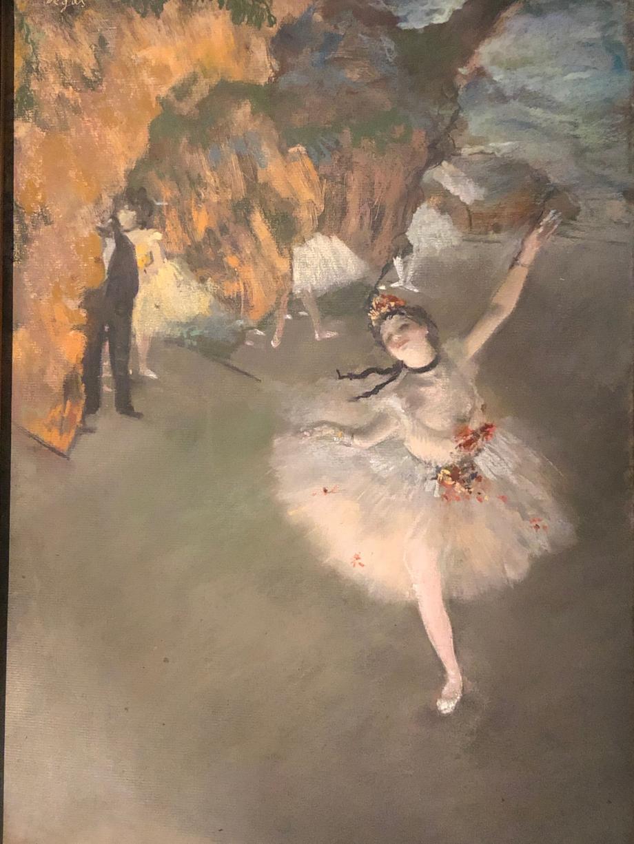 Ballet dit aussi l'Etoile 1876 1877 Paris, Musée d'Orsay