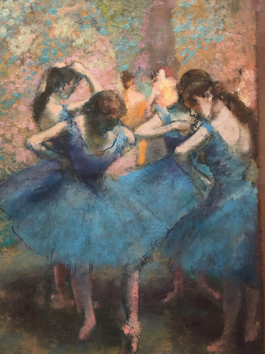 Danseuses bleues vers 1893 1896 Paris, Musée d'Orsay