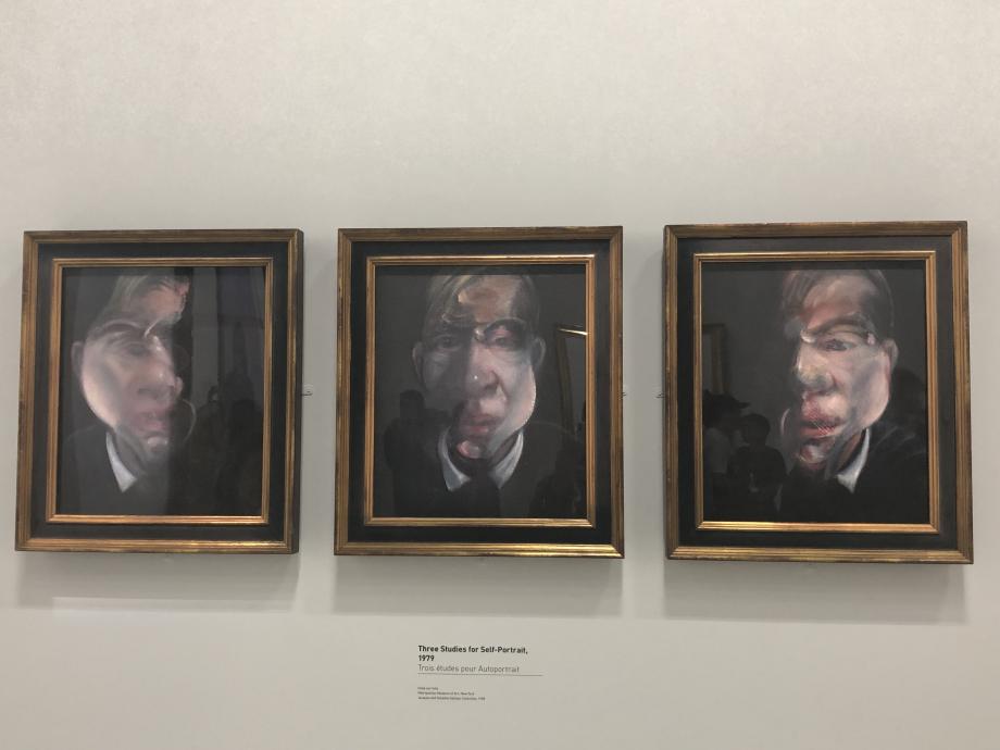 Trois études pour autoportrait, 1979