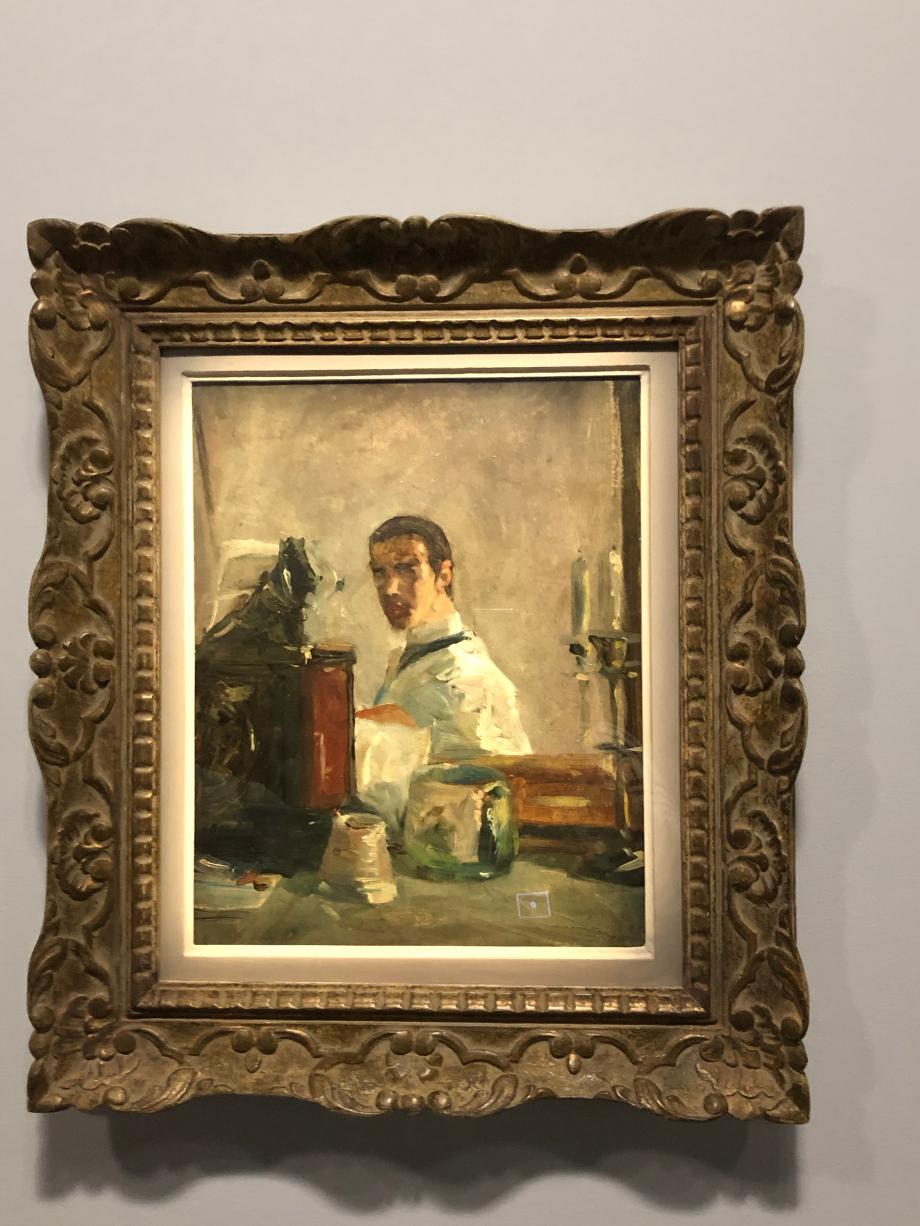 Henri de Toulouse-Lautrec par lui-même vers 1880 Albi, musée Toulouse-Lautrec
