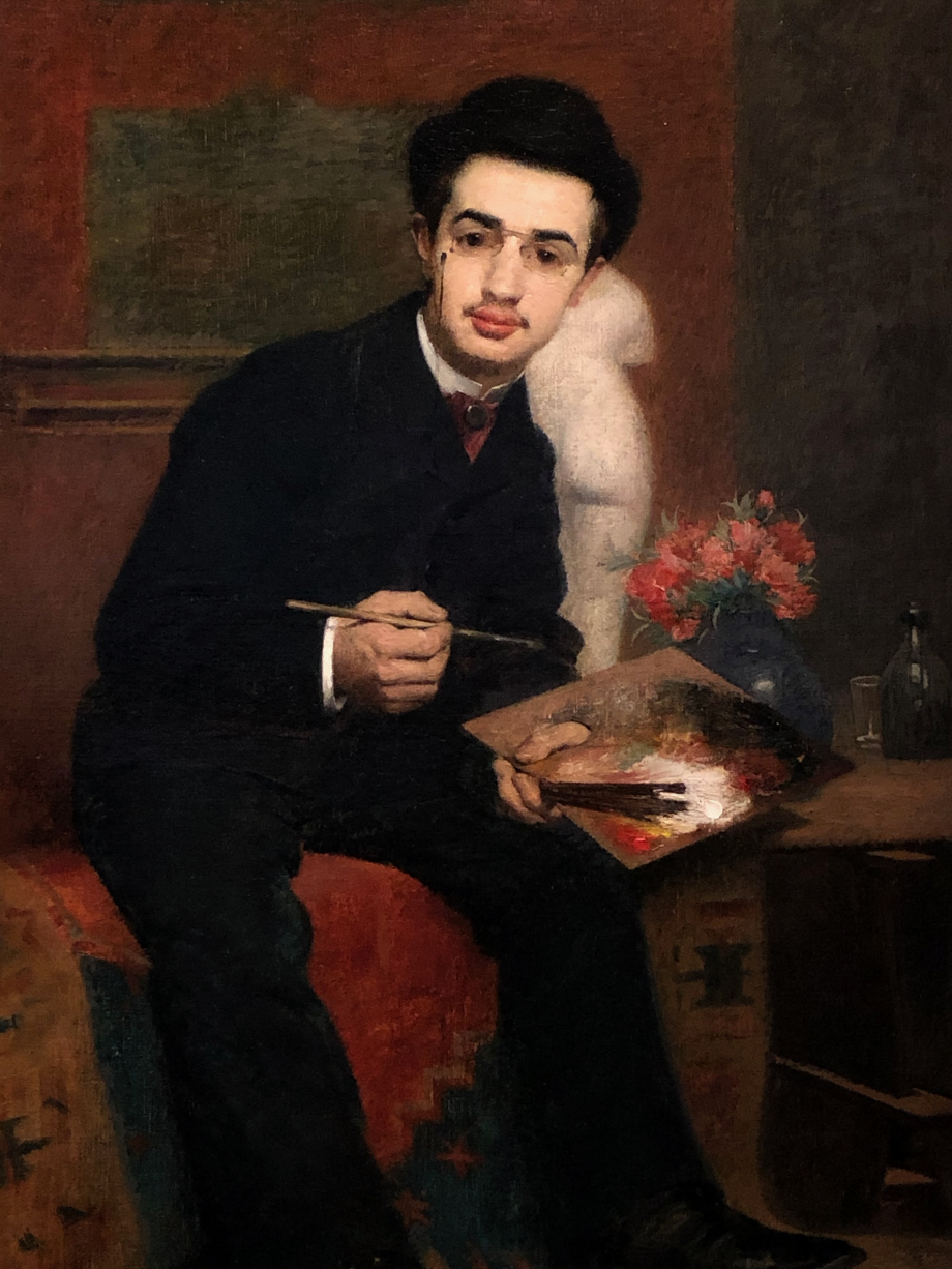 Henri Rachou Portrait du peintre Henri de Toulouse-Lautrec 1883 Toulouse, Musée des Augustins