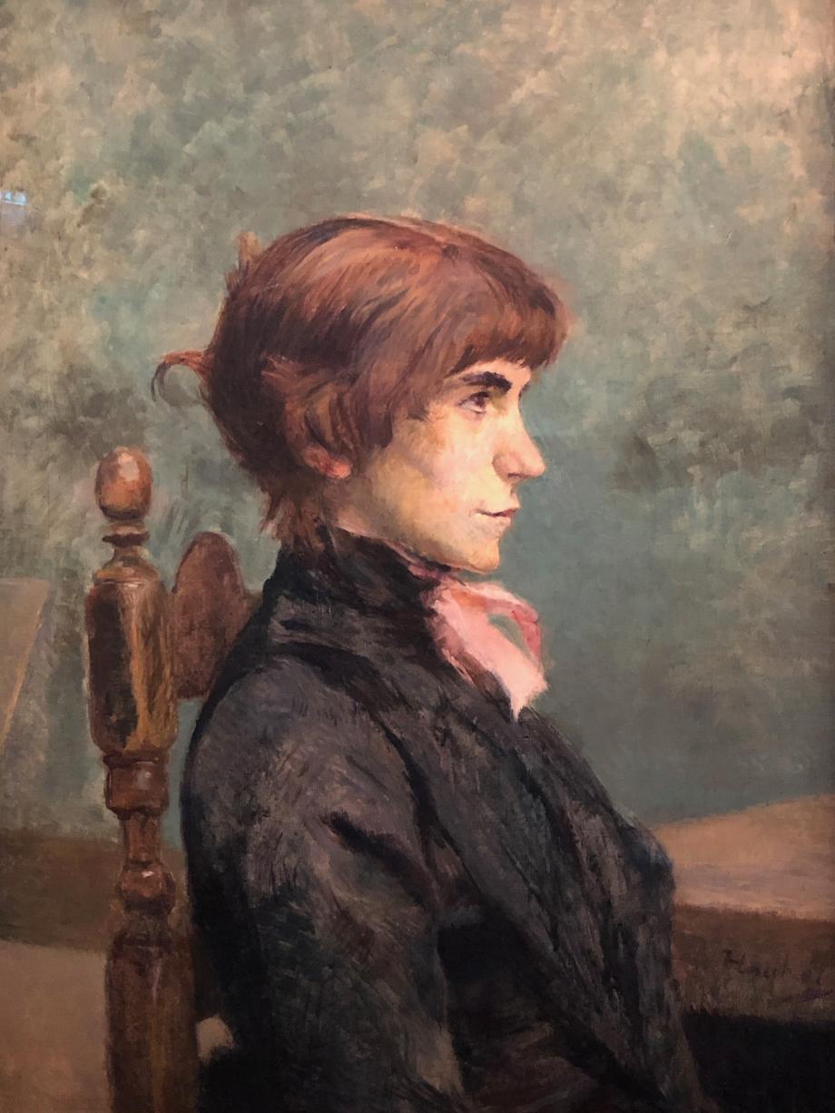 Portrait de Jeanne Wenz 1886 Chicago, The Art Institute of Chicago
