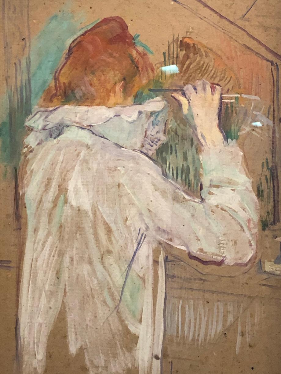 Femme se frisant 1876 Toulouse, Musée des Augustins