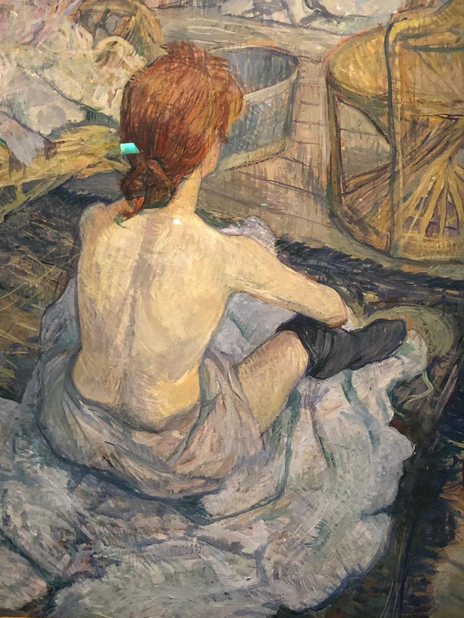 La toilette 1896 Paris, Musée d'Orsay