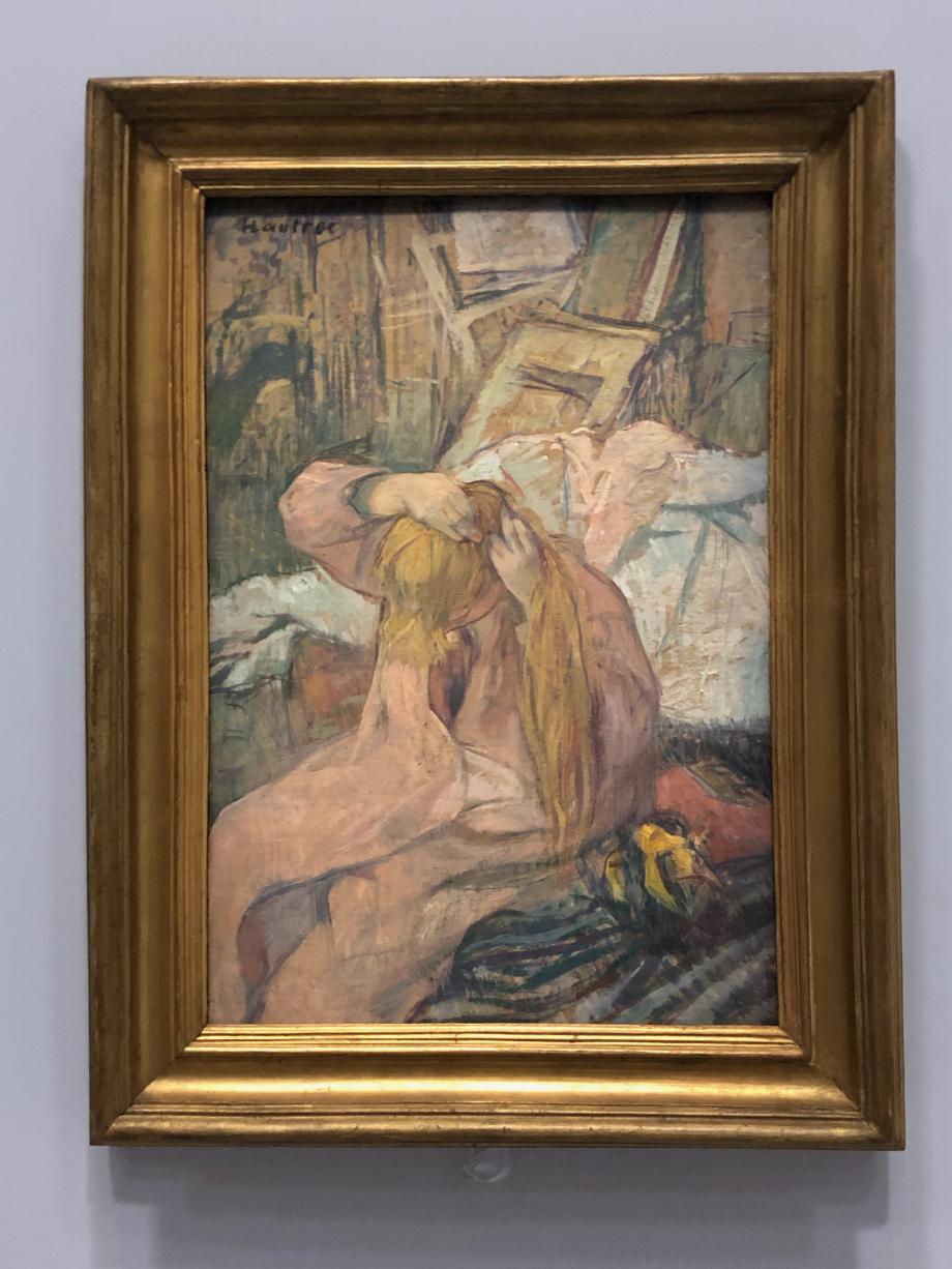 Femme se coiffant 1891 Paris, Musée d'Orsay