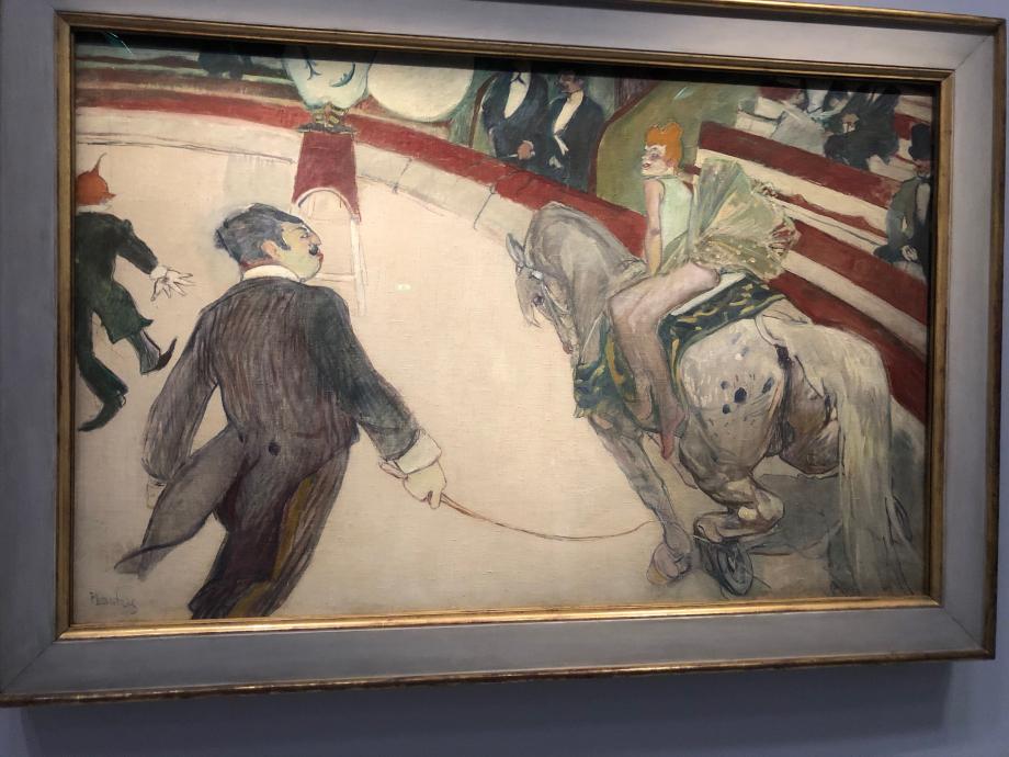 Au cirque Fernando, écuyère 1887 1888 Chicago the Art Institute of Chicago