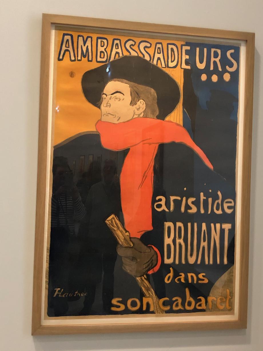 Aristide Bruant dans son cabaret 1893 Paris, BNF