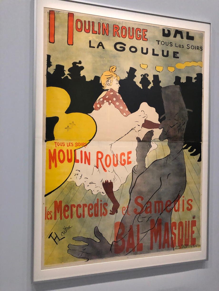 La Goulue  1891 Chaumont, le Signe, Centre national du graphisme