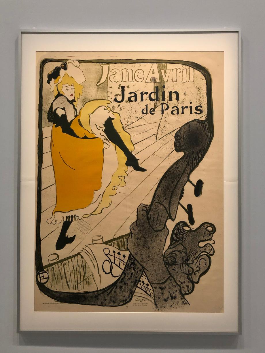 Jane Avril Jardin de Paris 1893 Chaumont, le Signe, Centre national du graphisme