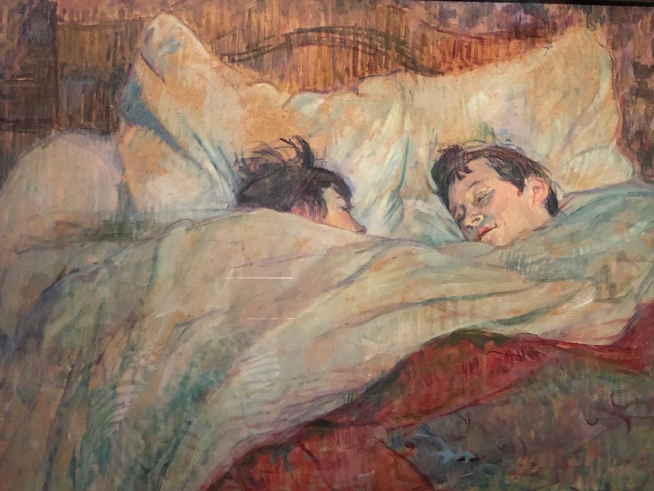 Dans le lit vers 1892 Paris, Musée d'Orsay