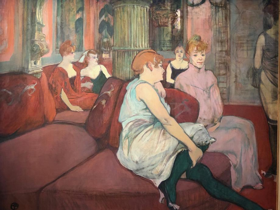 Au salon de la rue des Moulins 1894 Albi, Musée Toulouse-Lautrec