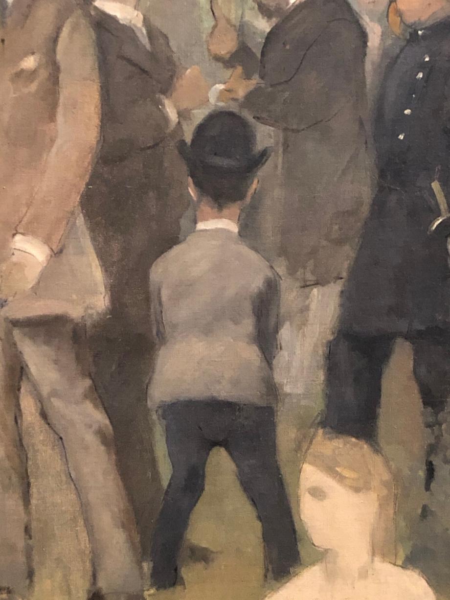 il se peint dans quelques uns de ses tableaux