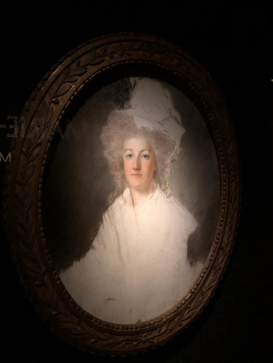 Alexandre Kucharcki portrait de la série réalisée au Palais des Tuileries et restée inachevée