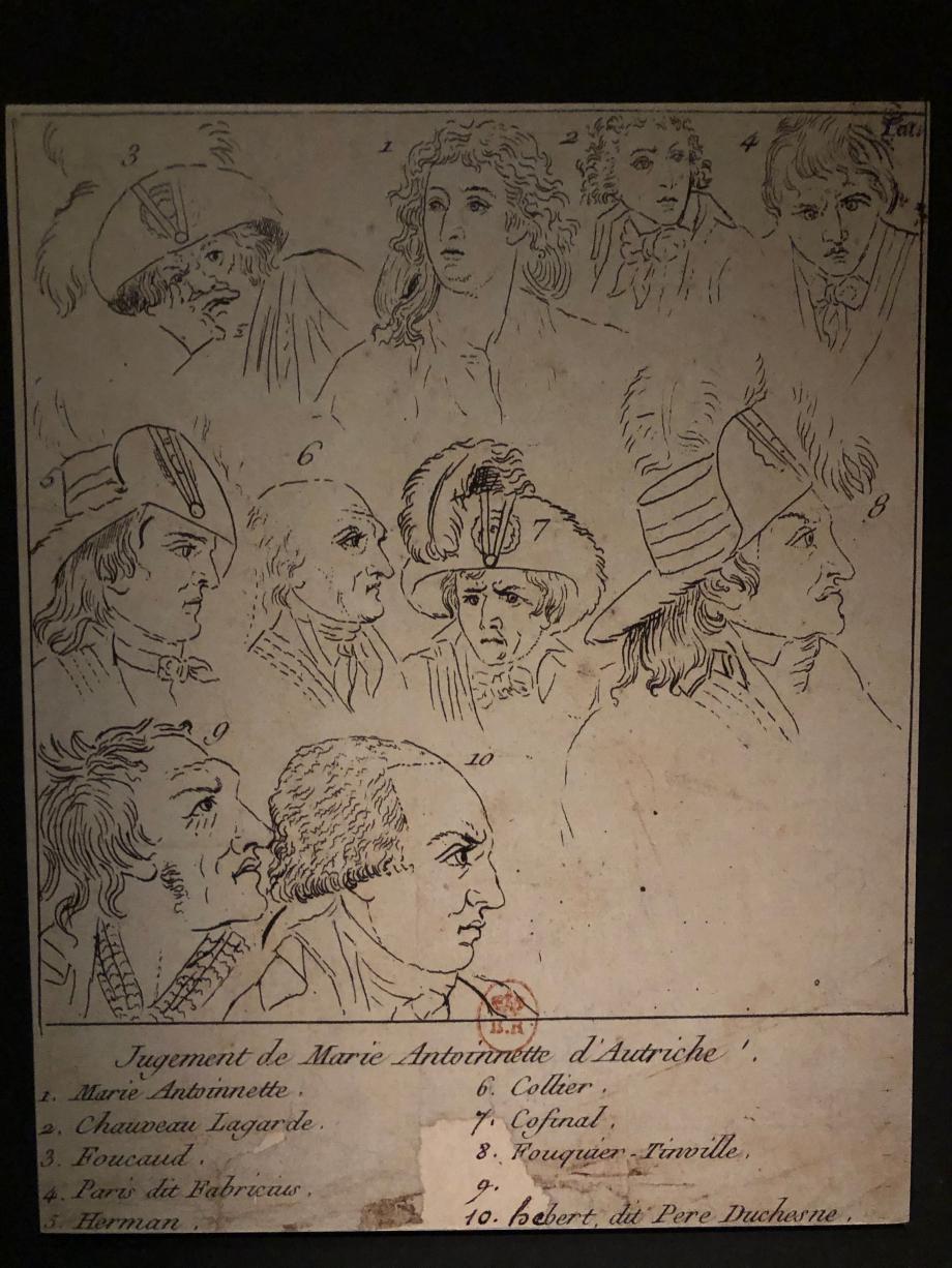 jugement de Marie-Antoinette