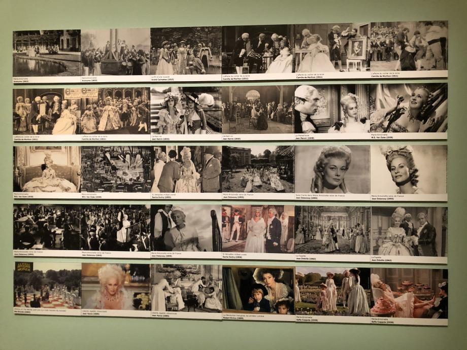il y a eu de nombreux films avec/sur Marie-Antoinette : si Versailles m'était conté, la Marseillaise, Marie-Antoinette de Sofia Coppola....