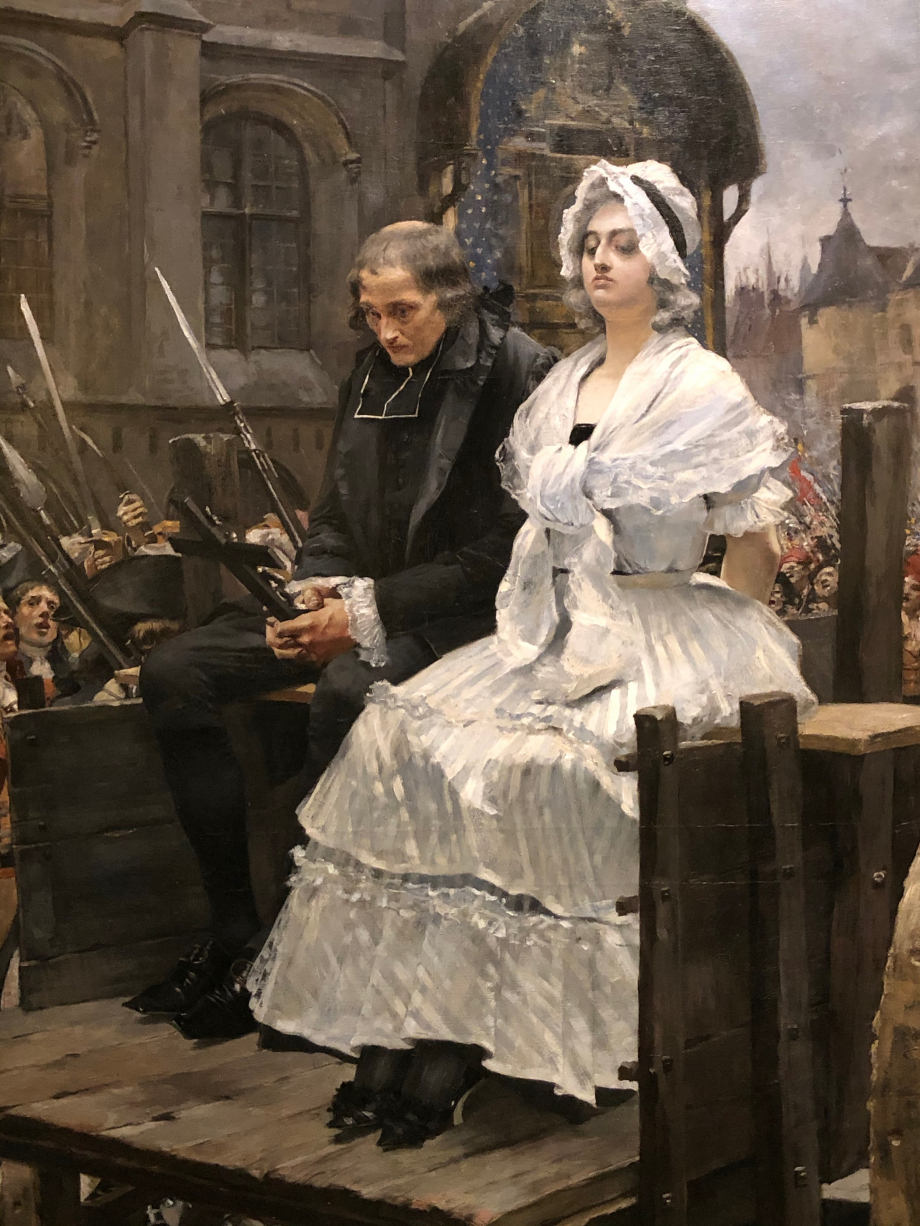 François Flameng Marie-Antoinette se rendant au supplice