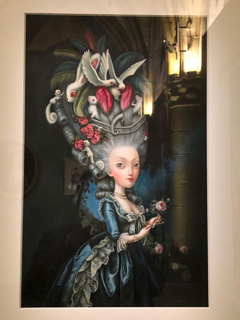 Benjamin Lacombe Marie-Antoinette à la rose