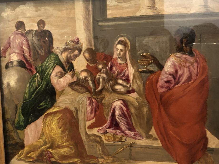 L'Adoration des Mages 1568 1570 Madrid Museo Lazaro Galdiano