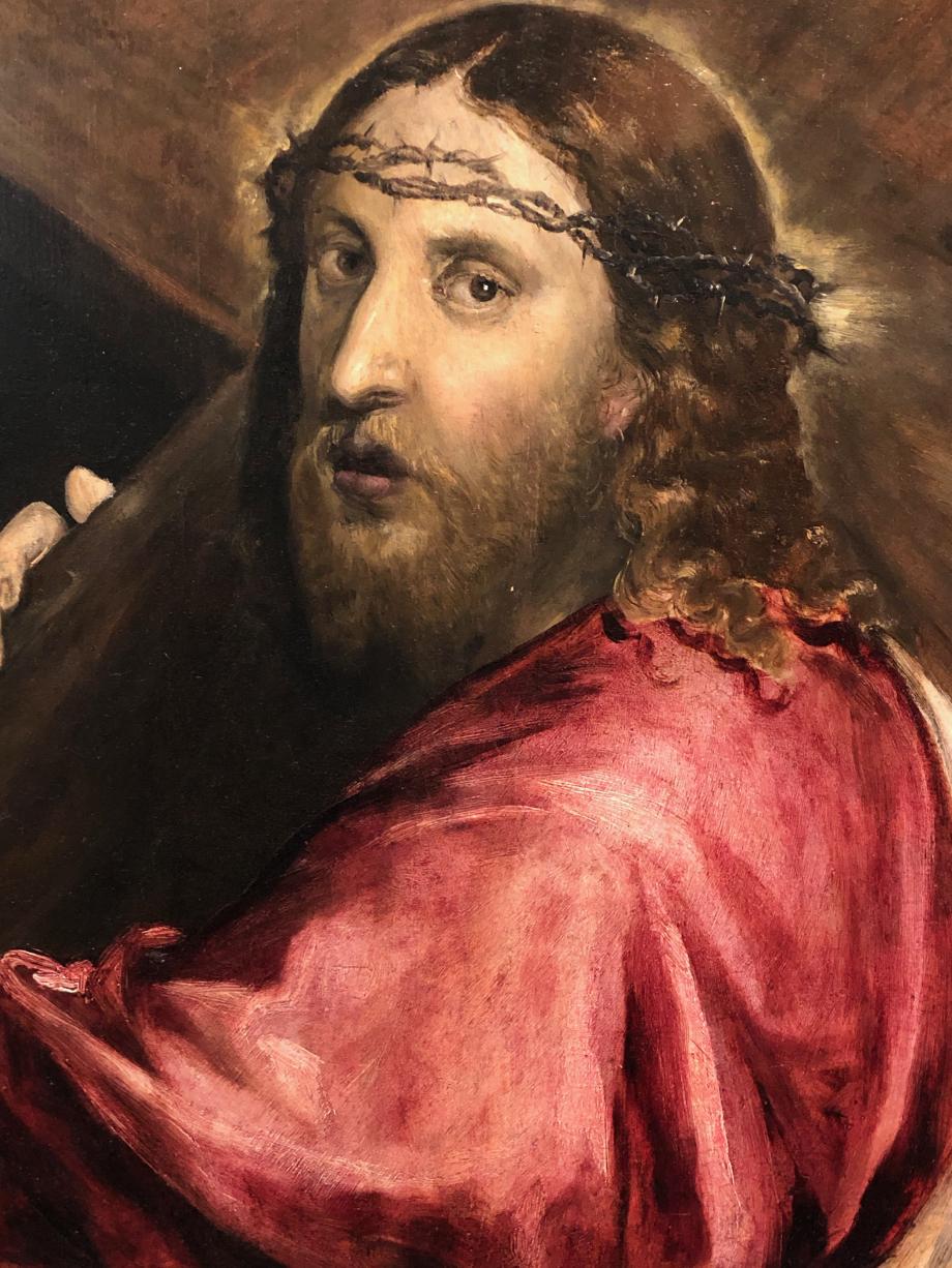 Le Christ Portant la Croix vers 1570 Private collection London