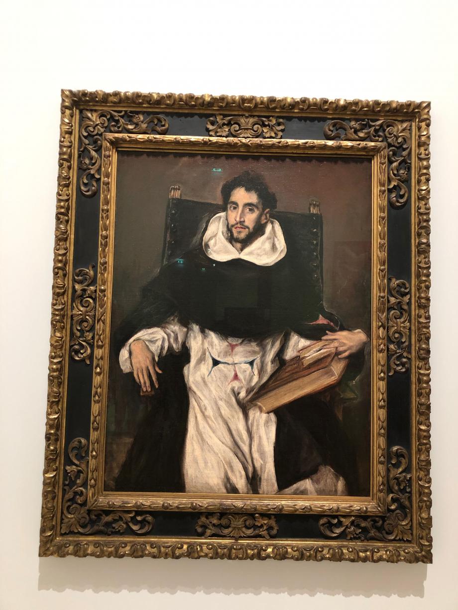 Portrait du frère Hortensio Felix Paravicino