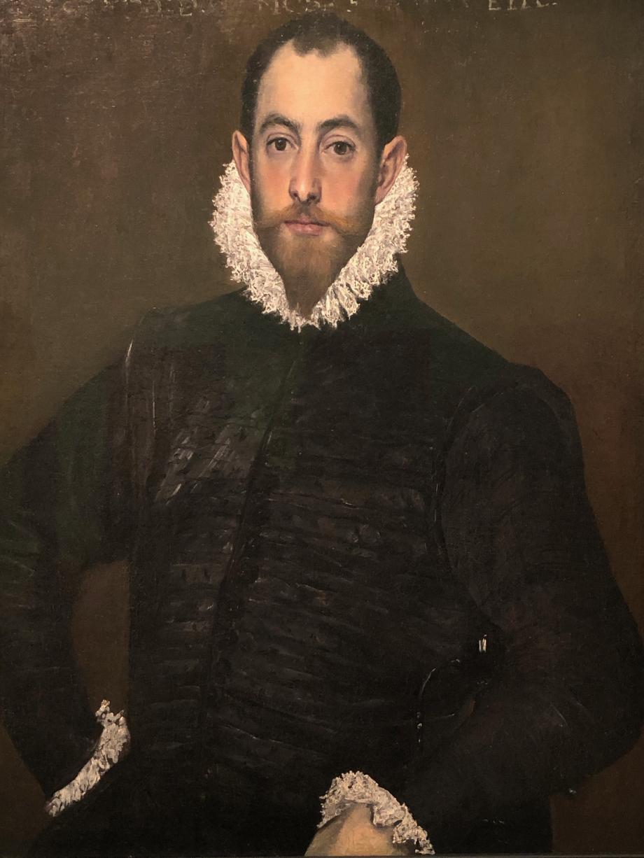 Portrait d'un gentilhomme de la maison de Leiva vers 1580 Montréal, musée des Beaux-Arts