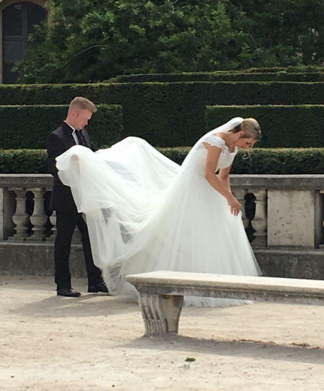 Mariés au Jardin du Carrousel