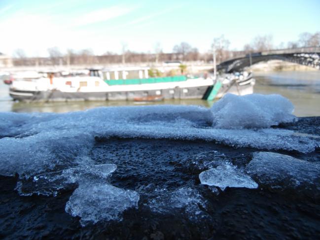Le dégel - Février 2018 - autour du Musée d'Orsay