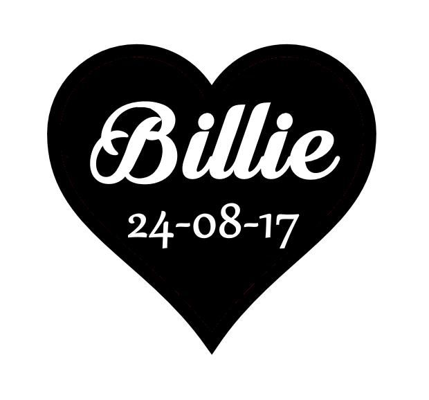 Billie dans coeur