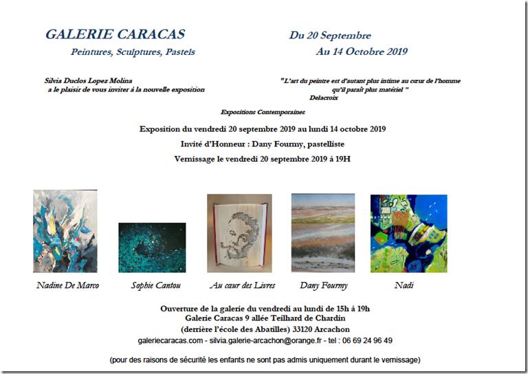 Galerie Caracas 2019 Affiche