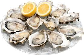 Assiette d'huîtres.