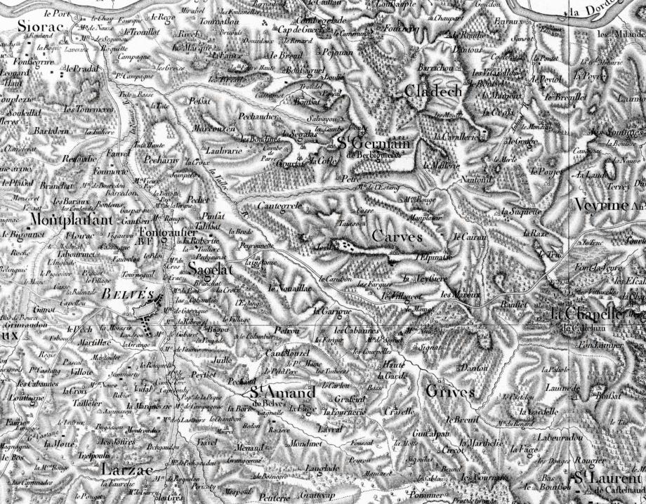 La Nauze sur la carte de Belleyme-1.jpg