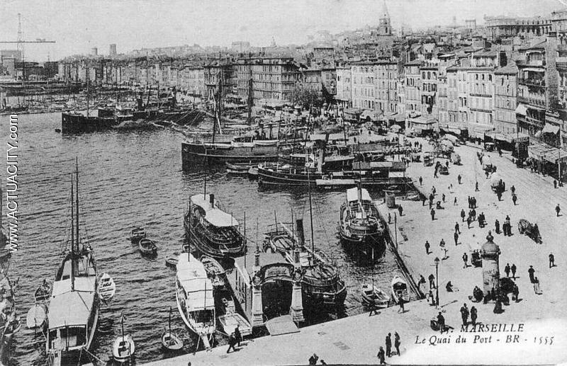 Cartes postales anciennes de Marseille - Visitez Marseille depuis chez vous