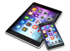 Les applications sur tablettes ou mobiles