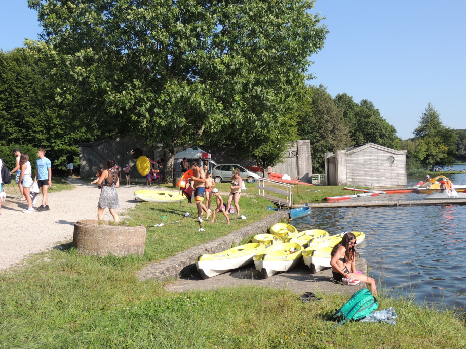 Base nautique du lac du Tolerme