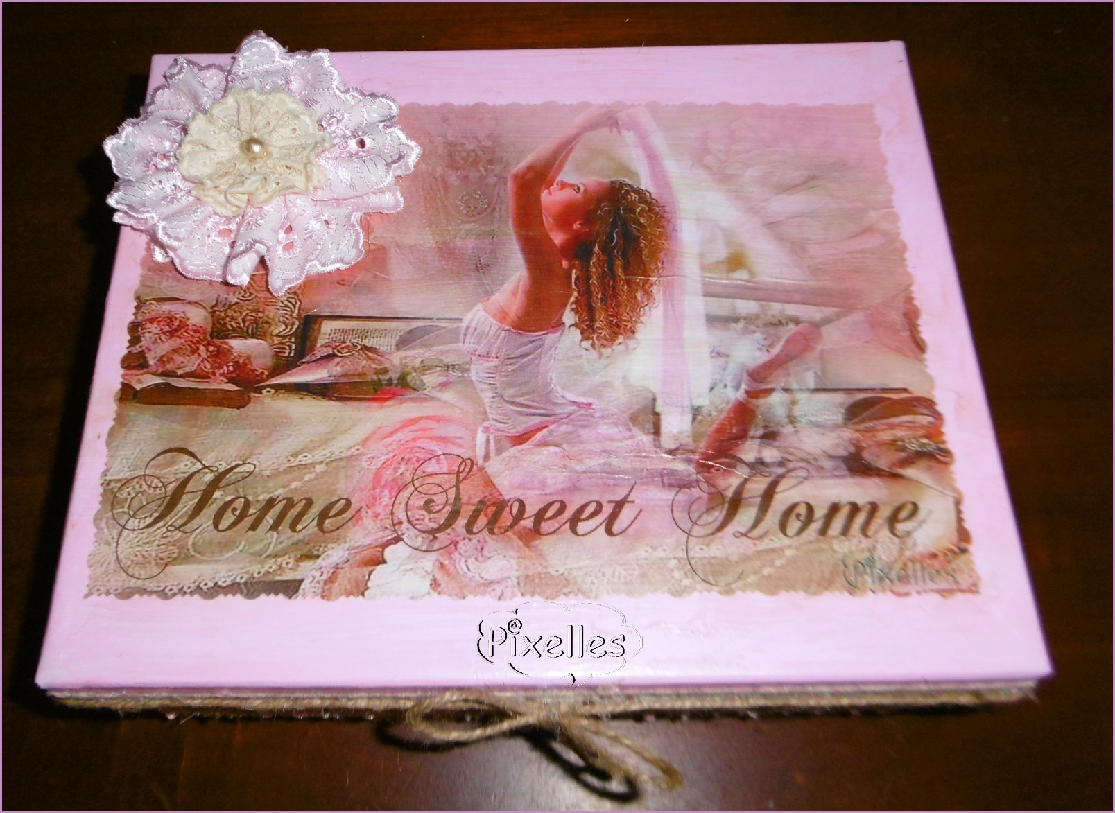 boîte rose danseuse home sweet home.jpg