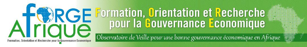 FORMATION, ORIENTATION ET RECHERCHE POUR LA GOUVERNANCE ECONOMIQUE EN AFRIQUE