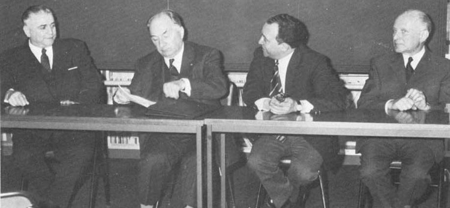 Photo de gauche à droite  Antoine Priore Robert Courrier Raymond Pautrizel et Francis Berlureau. Archives R.P..jpg