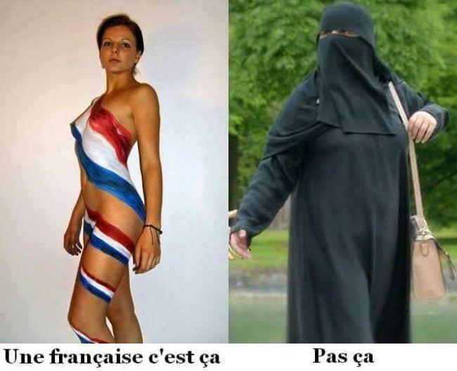 Une Française est belle et a fière allure