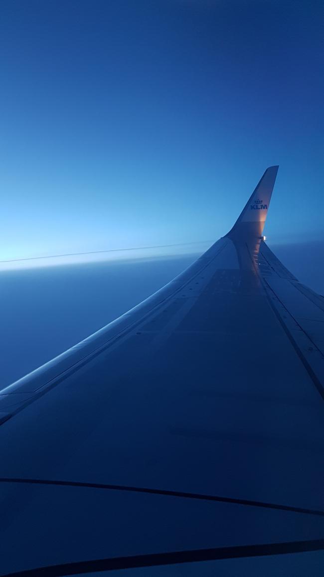 Vol KLM Amsterdam-Nice