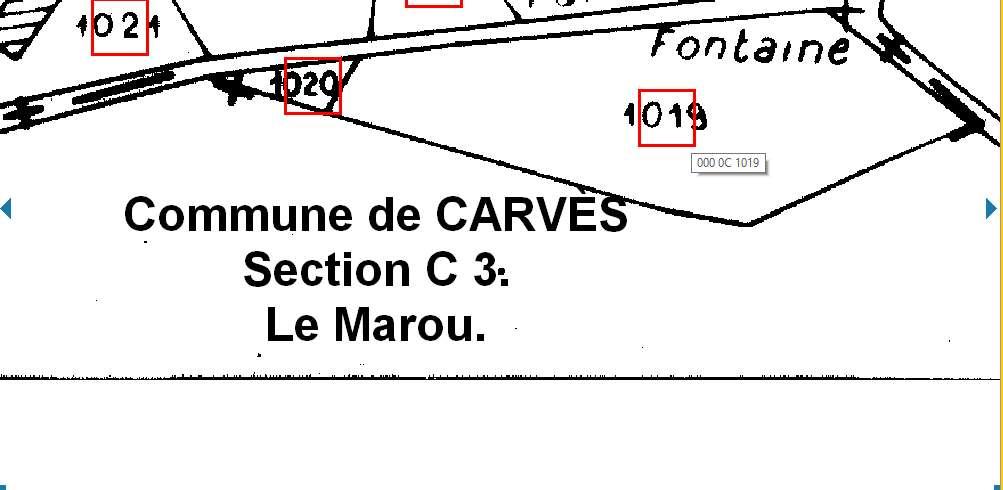 Cadastre Fontaine des Marroux..jpg