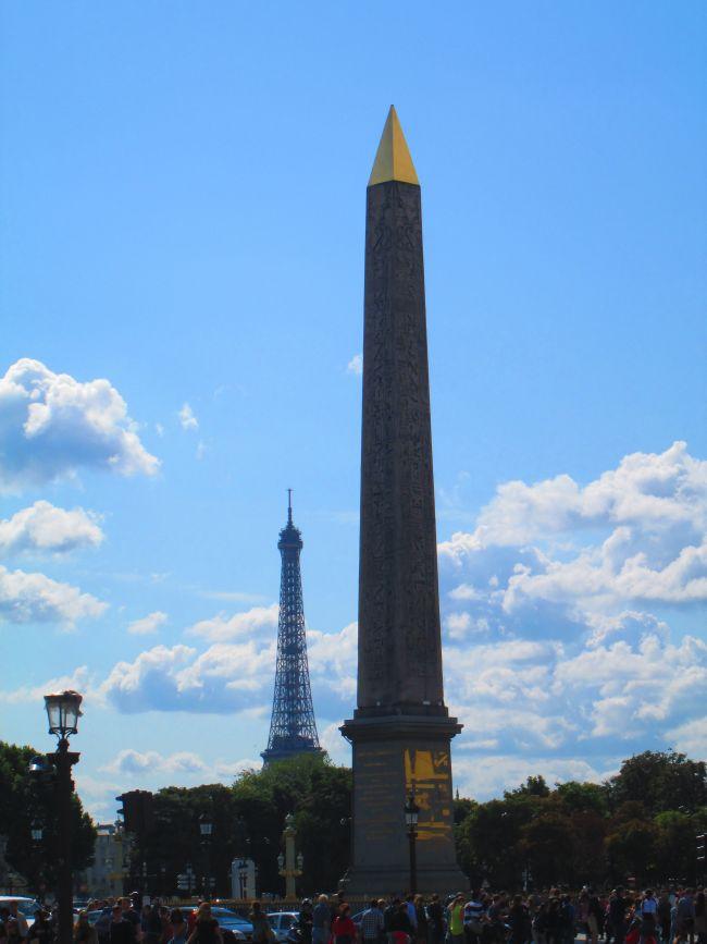 Obélisque du Louxor place de la Concorde