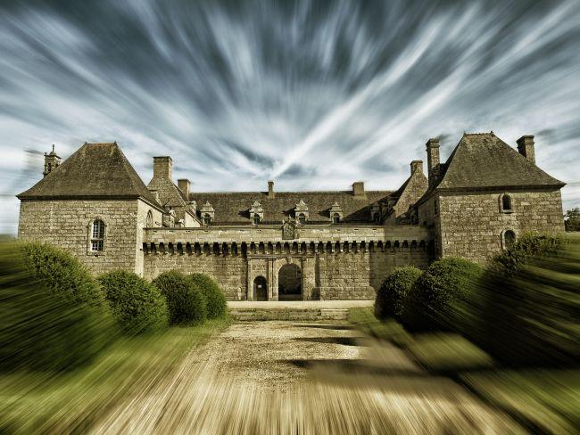 Château de Kergroadès