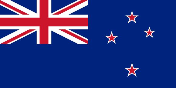 Drapeau - Nouvelle Zélande 580x290
