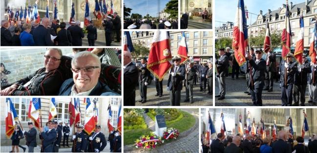 Eglise et monument aux morts de Lorient