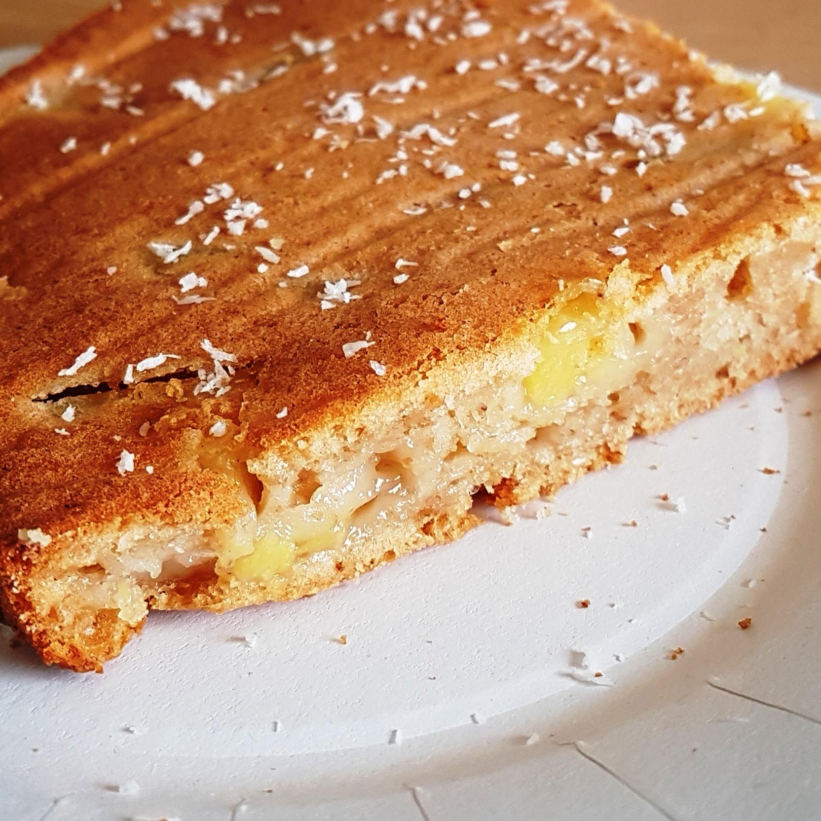 G teau a l 39 ananas sans beurre ni uf le plaisir de cuisiner healthy - Gateau ananas sans beurre ...