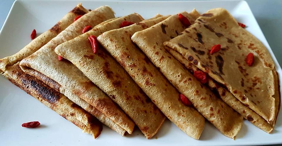 Cr pe avec farine peautre sans mati re grasse le - Cuisiner les legumes sans matiere grasse ...