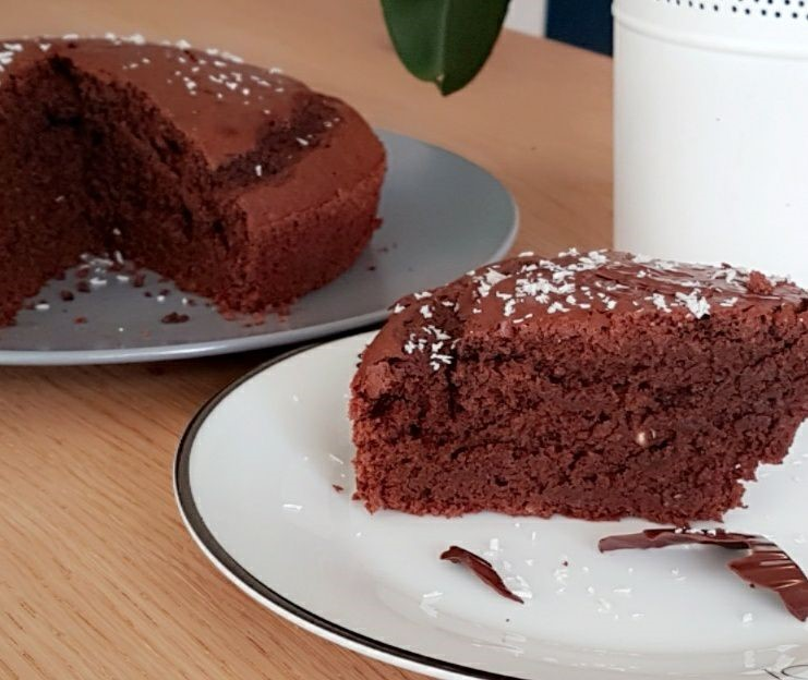 Moelleux au chocolat noir courgette sans mati re grasse - Cuisiner les legumes sans matiere grasse ...