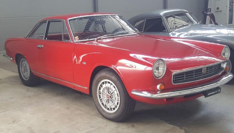 Abarth 2400 Coupé Allemano 1959 la-2400-abarth